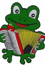 Oetel muzikant op de accordion