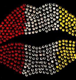 Niiniix Oeteldonk strass applicatie sweet lips groot oetelse kleuren