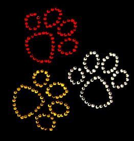 Niiniix Oeteldonk strass applicatie pootjes oetelse kleuren