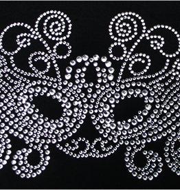 Niiniix Oeteldonk strass applicatie masker crystal
