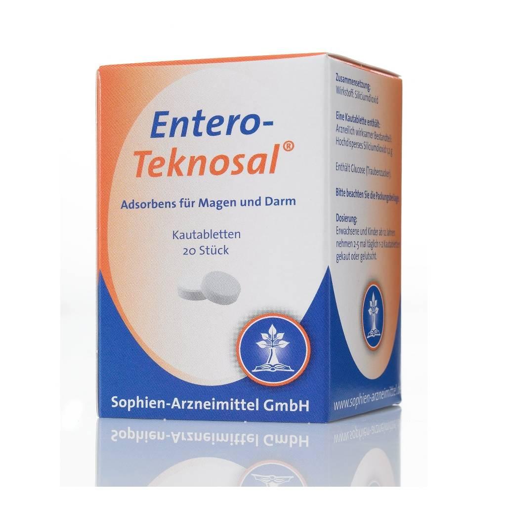 Entero-Teknosal® - Kautabletten, 20 Stück