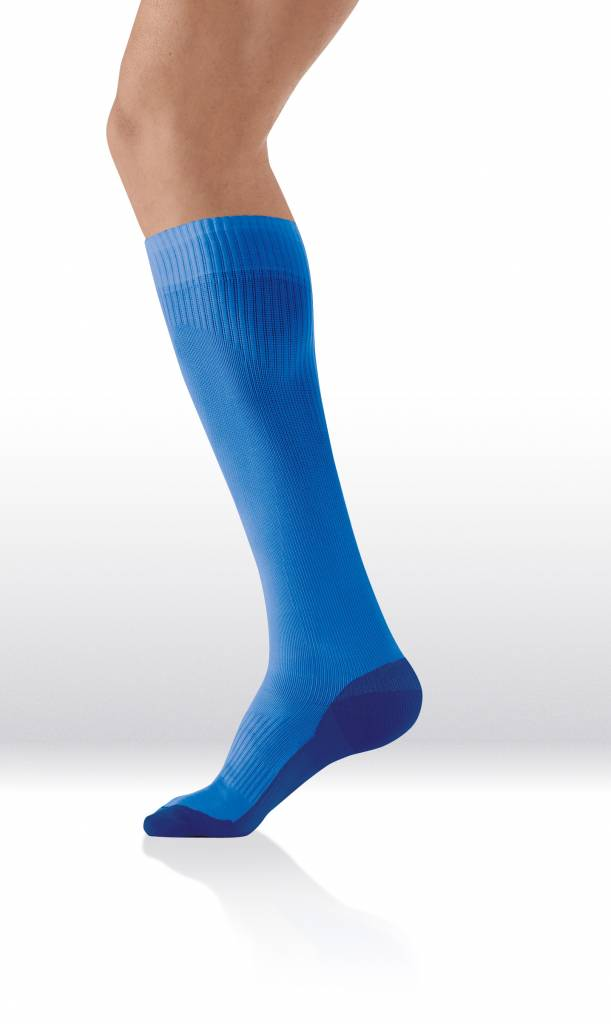 Sanyleg Active Sport Socks 15-21 mmHg, XXL, Blue