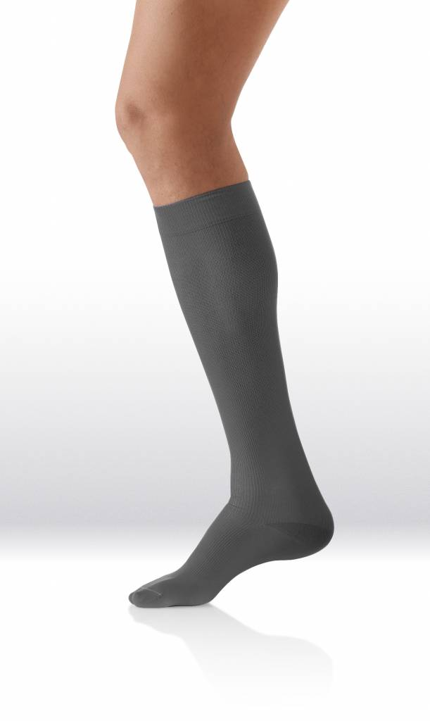 Sanyleg Comfort Socks Cotton/Silk 15-21 mmHg, XL, Smokey