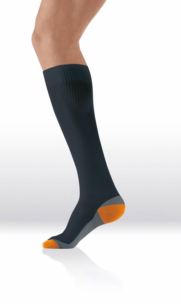Sanyleg Active Sport Socks 15-21 mmHg, XL, Black