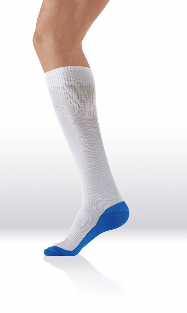 Sanyleg Active Sport Socks 15-21 mmHg, L, Wit