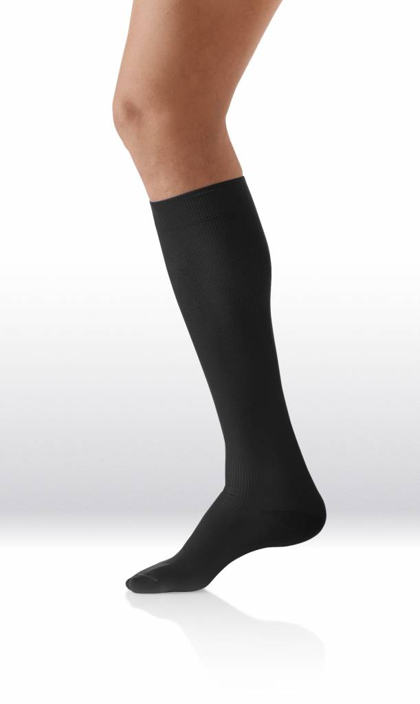 Sanyleg Comfort Socks Cotton/Silk 15-21 mmHg, M, Zwart