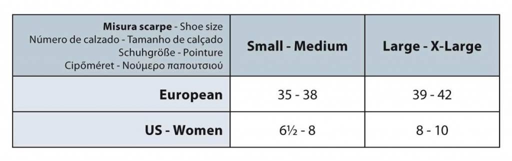 Sanyleg Preventive Sheer Knee High 25-27 mmHg, Black, S/M