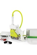 Aspen condenspomp Silent+ Mini Lime capaciteit 12 l/u opvoerhoogte 10m aanzuig 2m met Inoac goot kleur wit