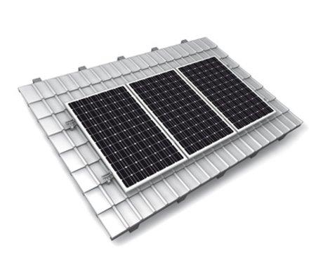 Axitec Set van 12 300 Wp Axitec BlackPremium incl. SMA SB 3,0 TL en K2 montagesysteem voor pannendaken opstelling 3x4
