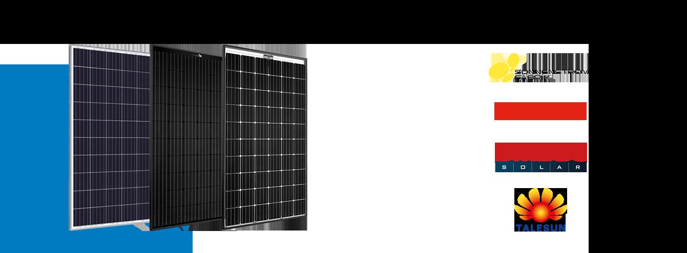 Set van 15 Duitse 320 Wp mono glas glas zonnepanelen van Sonnenstromfabrik,en Clickfit Evo  montagesysteem voor pannendaken opstelling 3x5