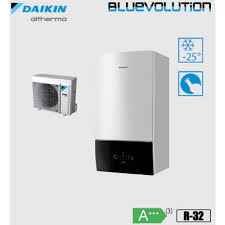 "Daikin Altherma "" All in One""vloermodel 6 kW 180 liter boiler"
