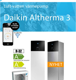 "Daikin Altherma "" All in One""vloermodel 11 kW 180 liter boiler - Copy - Copy - Copy"