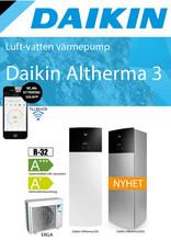 Daikin Altherma wandmodel 11 kW 230 V
