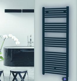 Masterwatt Calor Black 1000W badkamerradiator 600x1475x50mm