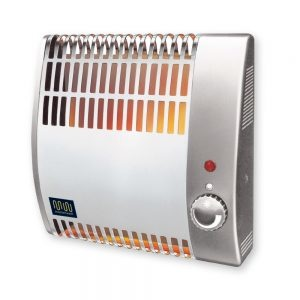 Masterwatt Robuust Basic elektrische convector h=450mm l=740mm 2000 Watt met voetsteun