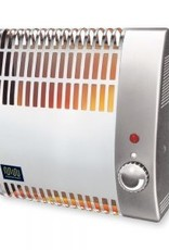 Masterwatt Robuust Basic elektrische convector h=450mm l=890mm 2500 Watt met voetsteun