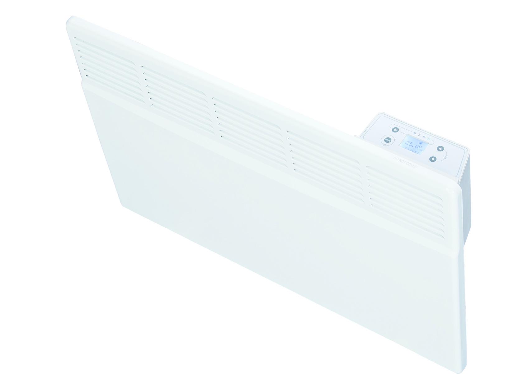 Masterwatt Robuust Smart Eco elektrische radiator h=450mm l=530mm 1000Watt