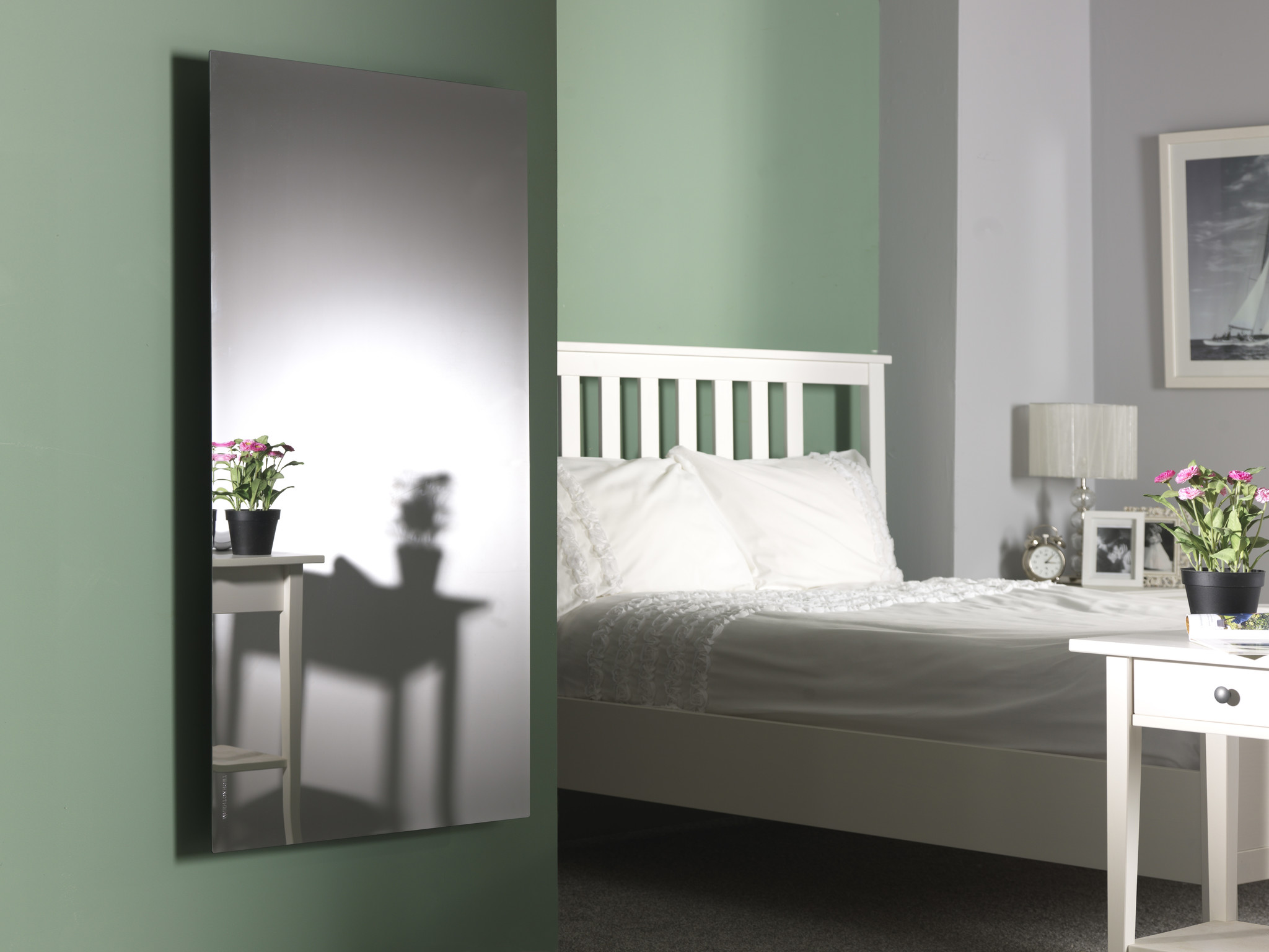 Masterwatt Mirror infraroodpaneel frameloos l=650mm h=1250mm 750 Watt