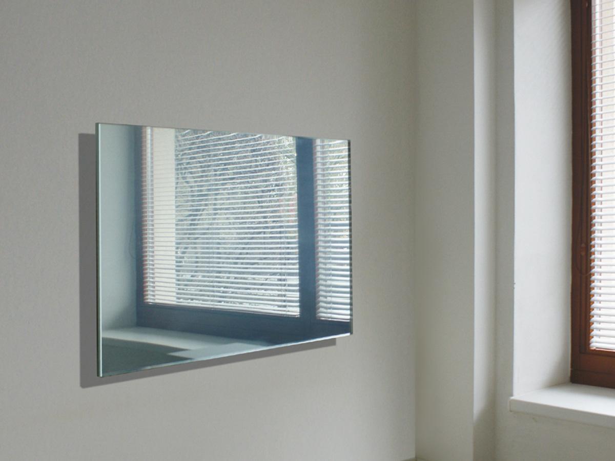 Masterwatt Mirror infraroodpaneel frameloos l=650mm h=1250mm 750 Watt RF