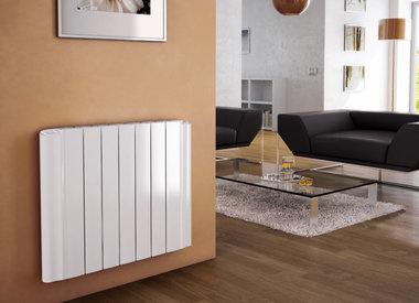 Elektrische radiator van aluminium