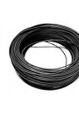 DC kabel 4 mm2 25 meter zwart