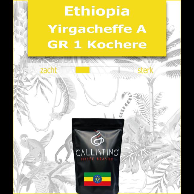 Ethiopia Yirgacheffe A Kochere Grade 1