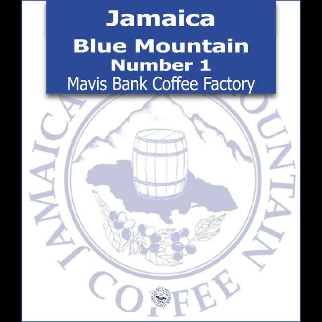 Jamaica Blue Mountain - Number 1 - Mavis Bank Coffee Factory