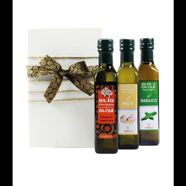 Geschenkmand 'Olio di Oliva Essenziale'