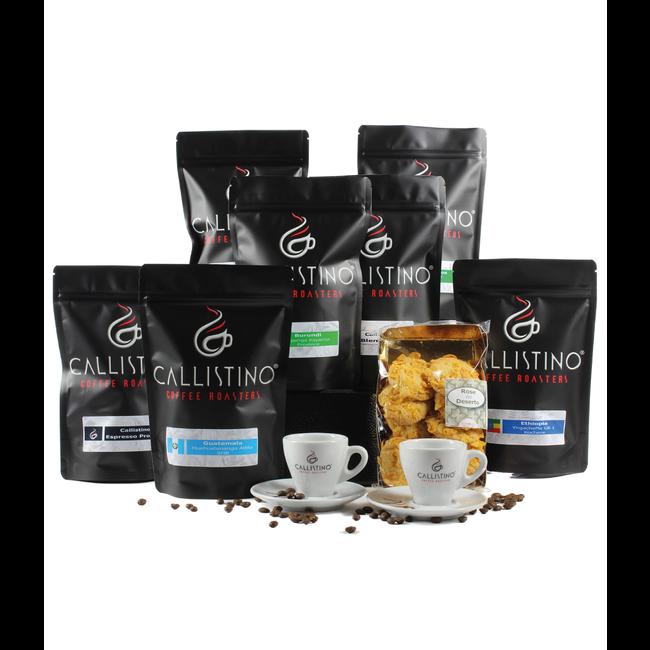Geschenkmand 'The Magic 7 Coffee'