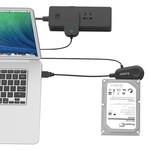 Orico Adaptateur USB 3.0 vers SATA HDD et SSD Câble Convertisseur 2,5 et 3,5 pouces SATA lecteurs 5 Gbps, SATA I, II et III