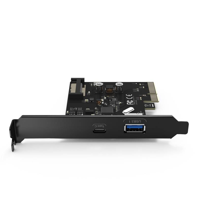 2 Ports Usb 3 1 Gen 2 Type C Pcie Card 10gbps With 1x