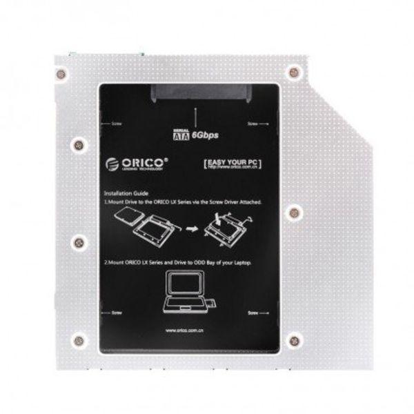Orico SATA HDD/SSD Caddy voor Laptop en Notebook CD/DVD Bay voor 9.5mm Optical Bay