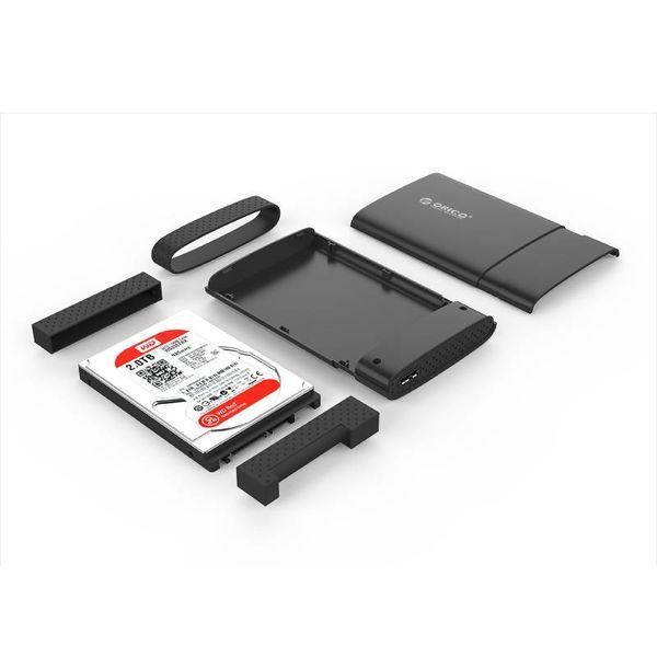 Orico Harde schijf behuizing 2.5 inch -  HDD / SSD  - USB3.0 -  zwart