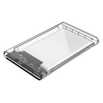 Orico Boîtier de disque dur 2,5 pouces / Plastique / Transparent / HDD / SSD / USB3.0