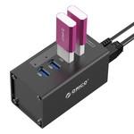 Orico 4 Port USB 3.0 Hub avec adaptateur secteur 12V