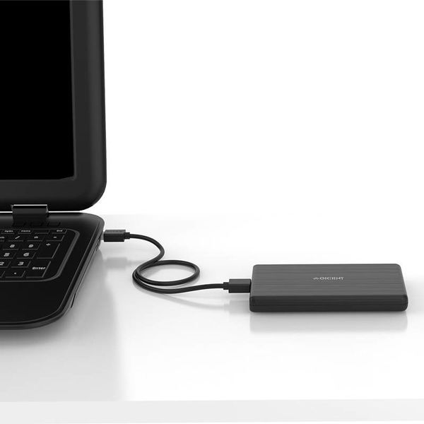 Orico Hard Drive Enclosure 2.5 inch / Plastic / HDD / SSD / USB3.0 / Black
