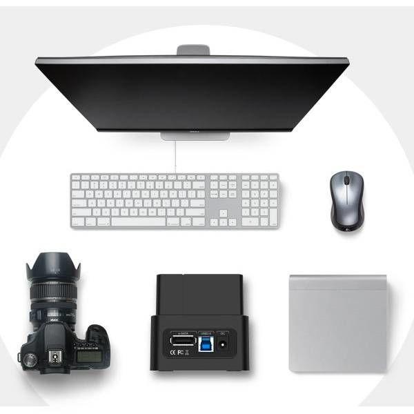 Orico USB 3.0 et une station d'accueil eSATA HDD / SSD pour 2,5 et 3,5 unités de pouce