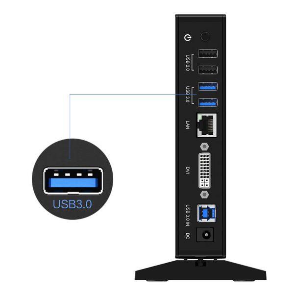 Orico Universeel USB 3.0 Docking Station met DVI en Gigabit Ethernet