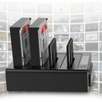Orico 4 Bay SATA to USB 3.0 External HDD Docking Station with duplicate / clone function multi bay