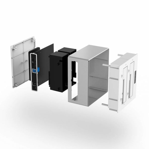 Orico Aluminium dual bay docking station voor 2.5 en 3.5 inch - HDD/SSD - zilver