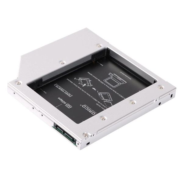 Orico Aluminium Notebook interne Festplatte Montagehalterung Adapter für Laptop Optical Bay 12.7mm
