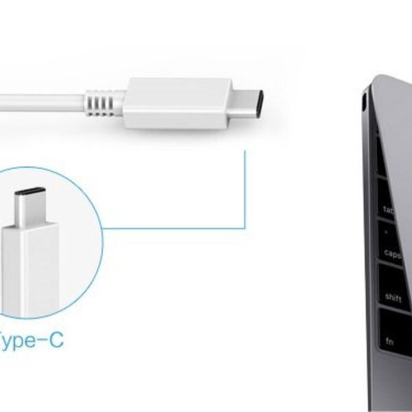 Orico Aluminium USB3.0-Hub mit 4 Ports Typ A - Typ C und Typ-A -5Gbps - VIA contoller - Silber