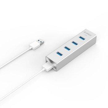 Orico Aluminium USB3.0 Hub pour Windows XP / Vista / 7/8/10, Linux et Mac OS