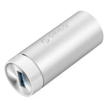 Orico SuperSpeed ​​USB 3.0 Gigabit Ethernet Adapter - Argent