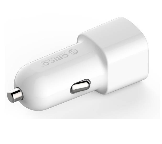 Orico 2 port USB car charger 12V / 24V 3 4A max 17W with