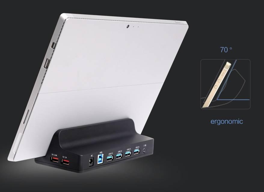 Usb3 0 4 Ports Universal Docking Station Mobile Amp Tablet