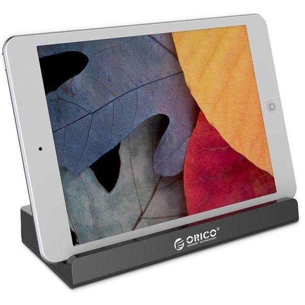Orico 4 ports USB3.0 Station d'accueil Universal Mobile et Tablet avec 1 mètre Câble USB 3.0 - Noir