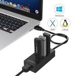 Orico USB3.0 Hub mit Gigabit-Ethernet-Converter