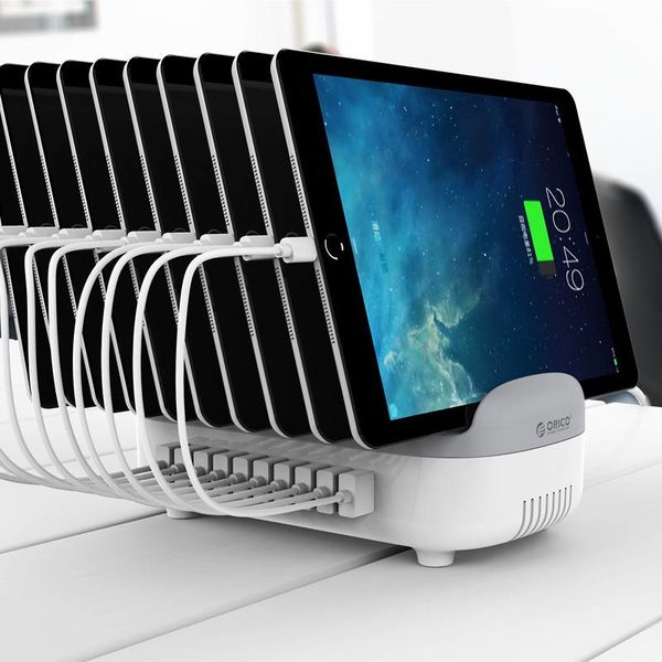 Orico 120W Multi charger docking station 10 Poort USB oplaadstation