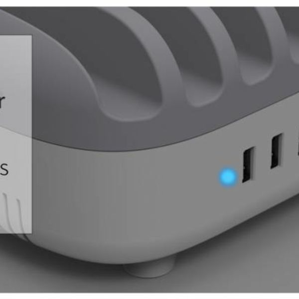 Orico Station d'accueil multi chargeur 120W Station de charge USB 10 ports